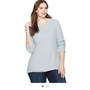 Lucky brand Nico pullover cashmere sweater